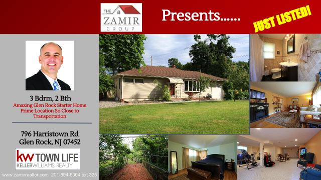 Glen Rock Homes for Sale Harristown Rd Zojhar Zack Zamir New Listing